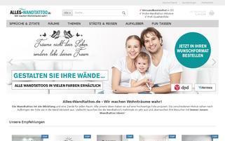 alles-wandtattoo.de Webseiten Screenshot