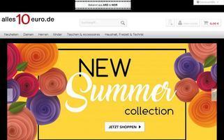 Alles10Euro Webseiten Screenshot