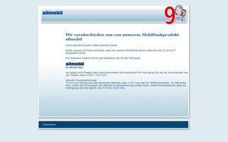 Allmobil Webseiten Screenshot