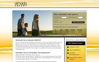 Almado-Energy Webseiten Screenshot