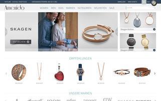 amenido.de Webseiten Screenshot