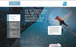 amex-versicherungen.de Webseiten Screenshot