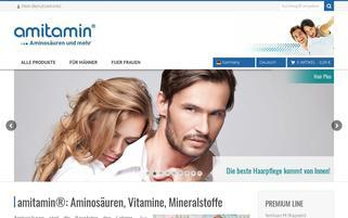 Amitamin Webseiten Screenshot