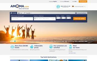 amoma Webseiten Screenshot