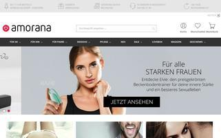amorana Webseiten Screenshot