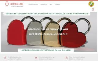 amoree Webseiten Screenshot