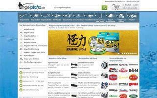 Angelplatz Webseiten Screenshot