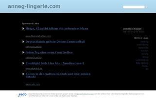 anneg-lingerie.com Webseiten Screenshot