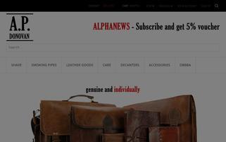 ap-donovan.com Webseiten Screenshot