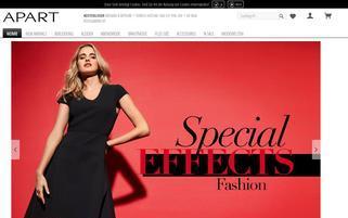 apart-fashion.de Webseiten Screenshot