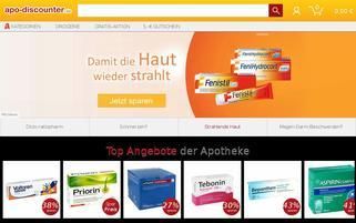 Apo Discounter Webseiten Screenshot