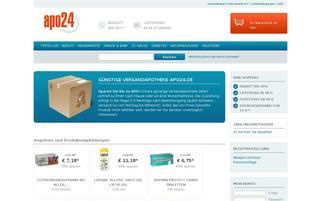 Apo24 Webseiten Screenshot