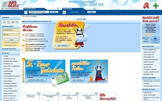 apoblitz Webseiten Screenshot