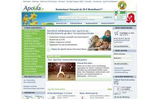 ApoVia Webseiten Screenshot