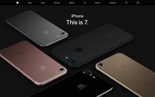 Apple Webseiten Screenshot