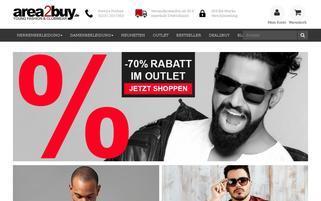 area2buy Webseiten Screenshot