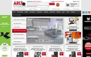 Arlt Webseiten Screenshot
