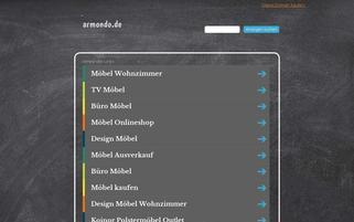 armondo.de Webseiten Screenshot