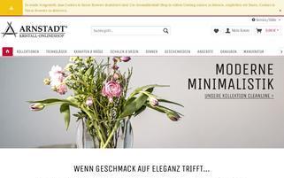 arnstadtkristall-shop.de Webseiten Screenshot