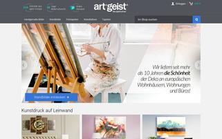 artgeist.de Webseiten Screenshot