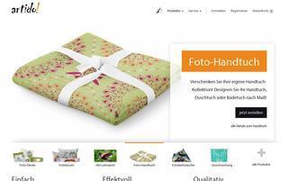 Artido Webseiten Screenshot