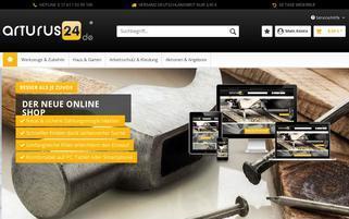 Arturus24 Webseiten Screenshot