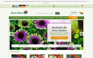 AS Garten Webseiten Screenshot
