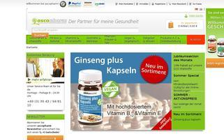 ascopharm Webseiten Screenshot