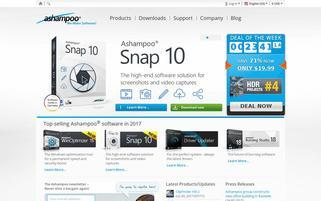 Ashampoo Webseiten Screenshot
