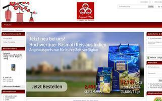 Asiamarkt-Wing Webseiten Screenshot