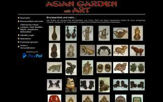 asian-garden-and-art.de Webseiten Screenshot
