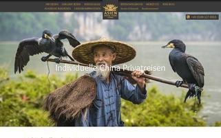 Asien Special Tours Webseiten Screenshot