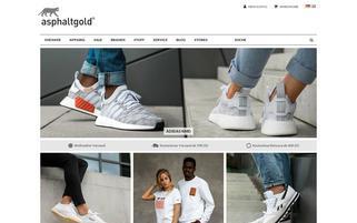asphaltgold Webseiten Screenshot