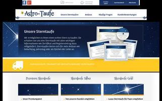 astro-taufe.de Webseiten Screenshot