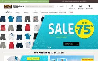 atlasformen.de Webseiten Screenshot