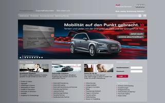 Audi Bank Webseiten Screenshot