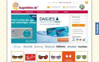 Augenliebe Webseiten Screenshot