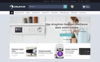 auna.fr Webseiten Screenshot