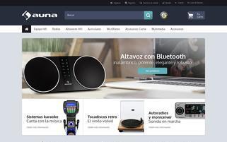 auna-multimedia.es Webseiten Screenshot