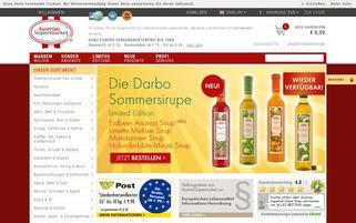 AustrianSupermarket Webseiten Screenshot