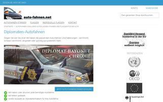 auto-fahnen.net Webseiten Screenshot