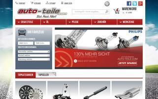 Auto-Teile.com Webseiten Screenshot