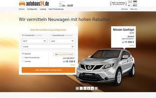 autohaus24 Webseiten Screenshot