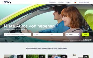 Autonetzer Webseiten Screenshot