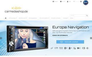 Autoradio24 Webseiten Screenshot