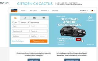AutoScout24 Webseiten Screenshot