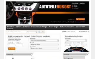 Autoteile Owl Webseiten Screenshot