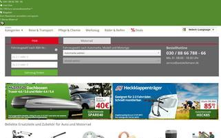 Autoteilemann Webseiten Screenshot