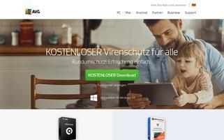 AVG Webseiten Screenshot