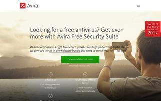 Avira Webseiten Screenshot